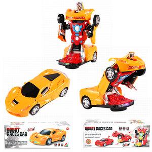 Transform - Robot Race car - 2in1 robot en auto