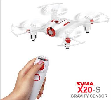 Syma X20-S mini quadcopter drone Gravity Sensor controller 2.4GHZ wit