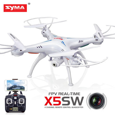 Syma X5SW drone met HD live camera quadcopter (FPV) wifi - wit