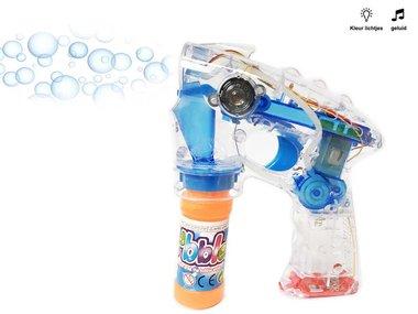 Bubble Gun - bellenblaas pistool - met licht en geluid