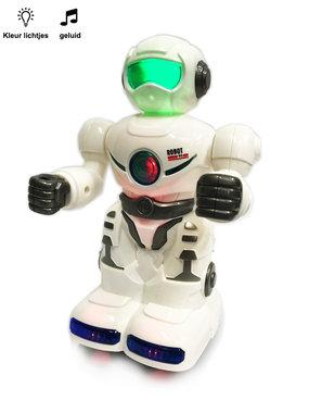 Speelgoed Robot met geluid en led lichtjes - universal drive Agility robot