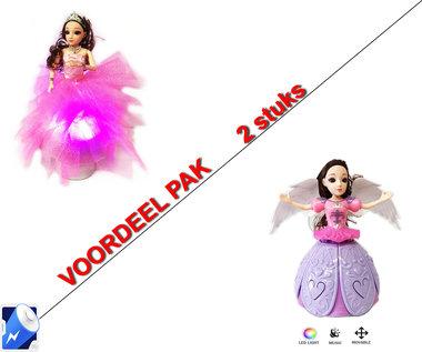 Little Princess Roze + Dancing Angel Girl Paars | incl. Batterij