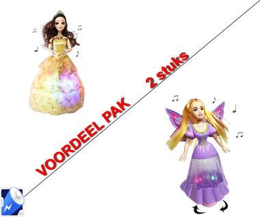 Little Princess Goud+ Dancing Butterfly princess   | incl. Batterij