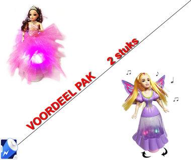 Little Princess Roze + Dancing Butterfly princess   | incl. Batterij