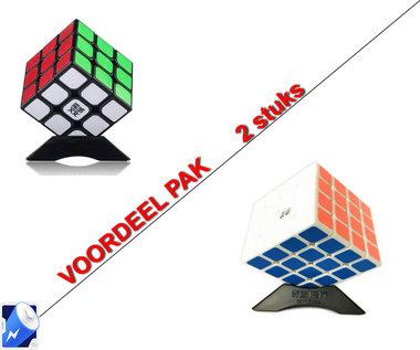 Breinbreker cube| kubus (3X3) 6CM + Breinbreker Revenge 4x4x4 - kubus -6.2CM
