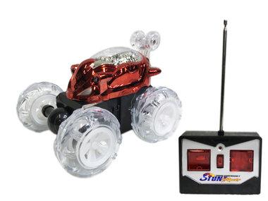 Dasher Rc Stunt auto radiografisch | Acrobatisch auto -rood
