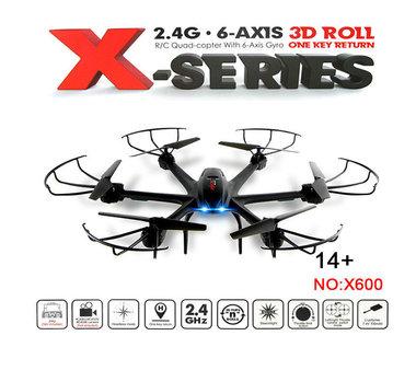 MJX X600 Hexacopter 2.4ghz +one key return mode -wit