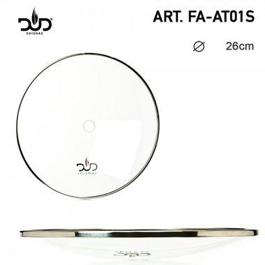 DUD - Glazen asplaat waterpijp- Glass Ashplate Shisha - Ø:260mm
