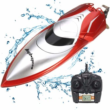 BS RC Race Boot H106- High Speed boat 2.4GHZ - Skytech 20km/u