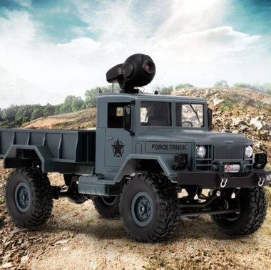 BS Military Rc Truck -Wifi live camera - App control  (IOS&Android) 2.4GHZ