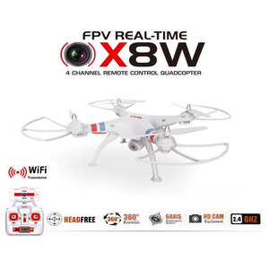 Syma X8W drone FPV live hd camera quadcopter -wit