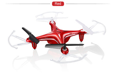 SYMA X13 STORM QUADCOPTER 4.CH. 2.4GHZ Rood