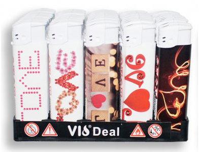 Klik aanstekers 50 in tray navulbaar- Unilite VIO deal